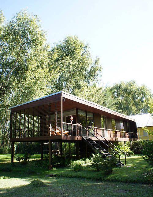 Best 25 stilt house ideas on pinterest modern for Stilt house kits