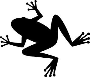 black and white frog clipart best frogs pinterest frogs rh pinterest ch frog tongue clipart black and white cute frog clipart black and white