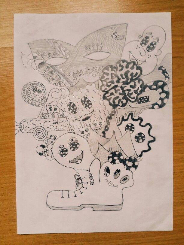 Karalama Sanatı Kendi çizimlerim