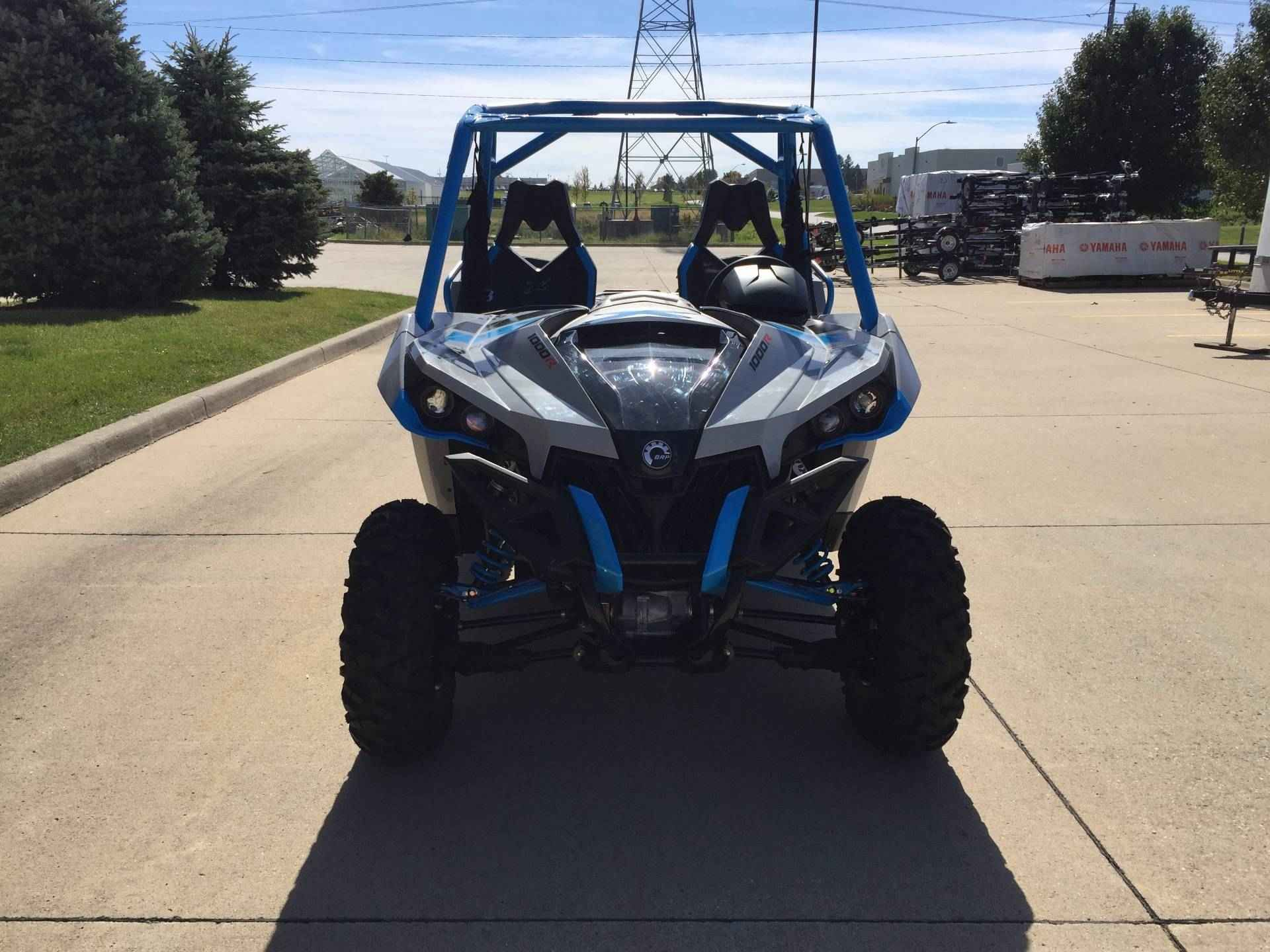 """New 2016 Can-Am Maverickâ""""¢ X® XC ATVs For Sale in Iowa. Call for Pricing This package takes all the ground-breaking innovations of the Can-Am Maverick and optimizes them for pure-sport performance on the trail. At 60 inches, it's narrower than other vehicles in the Maverick lineup. It also includes Tri-Mode Dynamic Power Steering (DPS), Visco-Lok QE auto-locking front differential and beadlock wheels. The trail will often prove to be a difficult test, and the Maverick X xc is built to take…"""