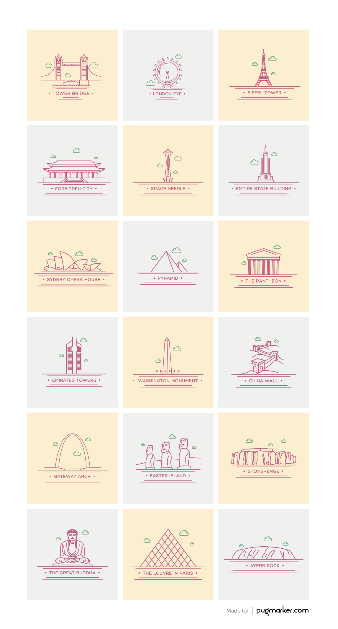 Freebie world landmark icons ai eps pdf png and psd icons freebie world landmark icons ai eps pdf png and psd gumiabroncs Image collections
