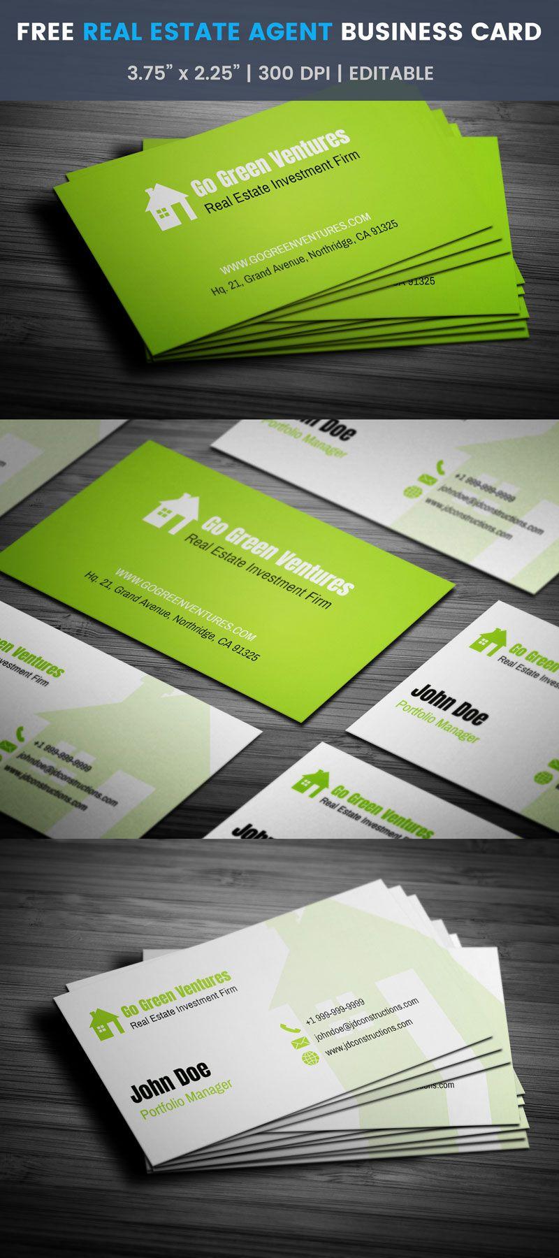 Real Estate Investor Business Cards : estate, investor, business, cards, Estate, Agent, Business, Preview, Templates,, Investors,, Cards