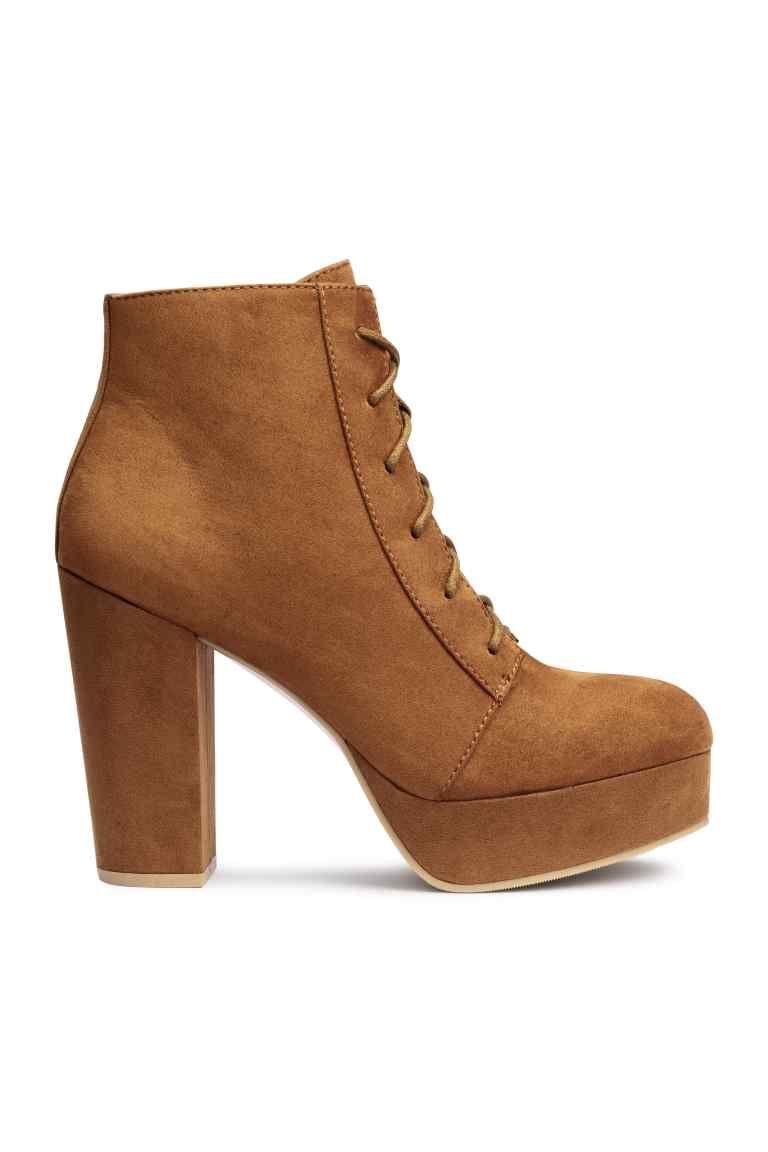 mirada detallada dc881 1629d Botines con plataforma | shoes en 2019 | Zapatos, Tacones y ...