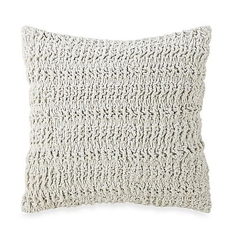 Bed Bath And Beyond Decorative Pillows Glamorous Dkny Chunky Knit Square Toss Pillow Bed Bath And Beyond  Pier 1 Review