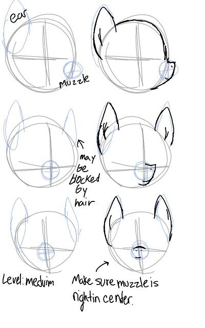 How I do pony ears (Tutorial?) by Luchocas on DeviantArt |Mlp Ears Drawings