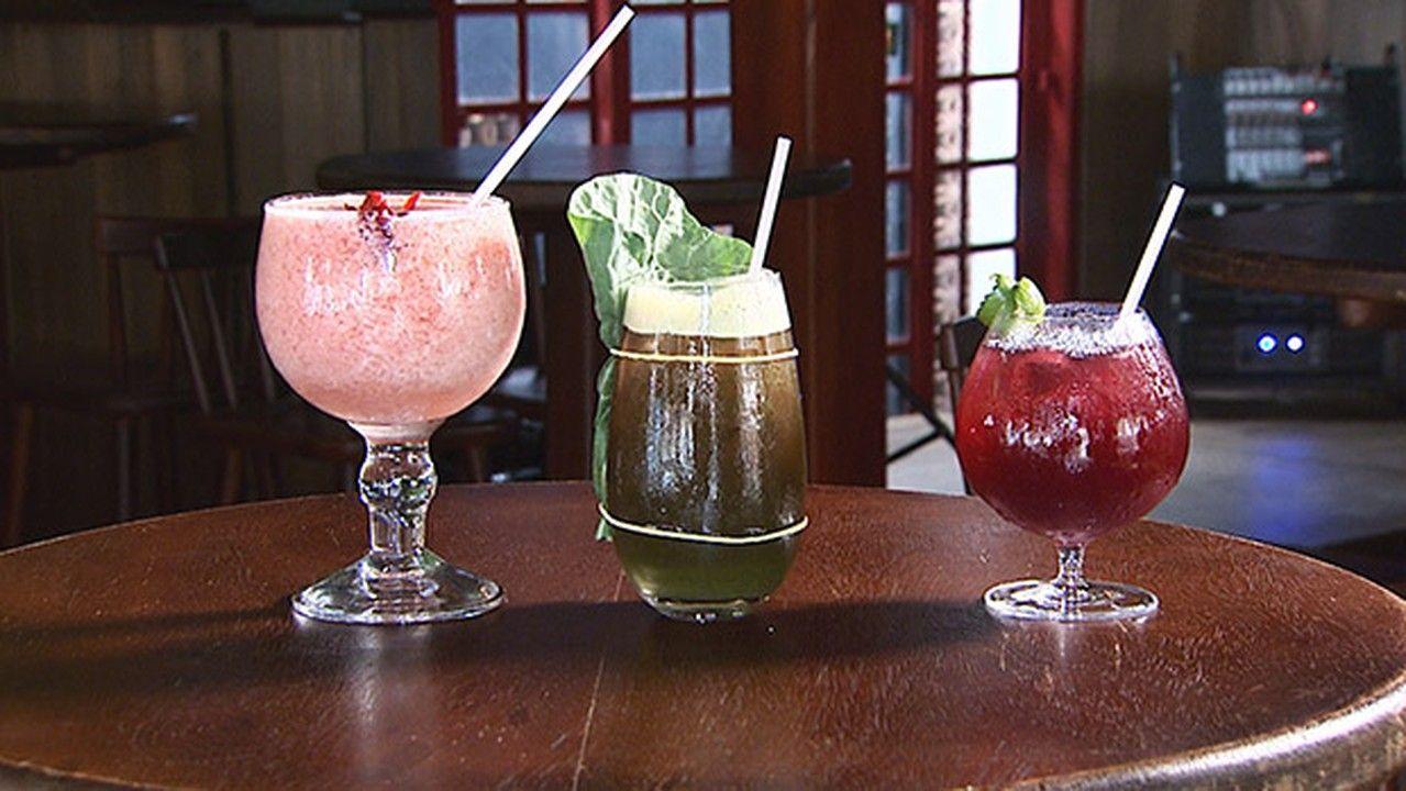 Na Hora do Rancho, um drinque detox e receitas de bebidas refrescantes que não levam álcool.