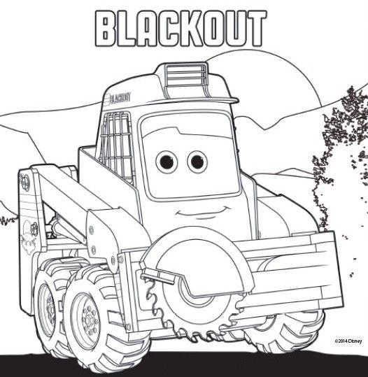 blackout kleurplaten
