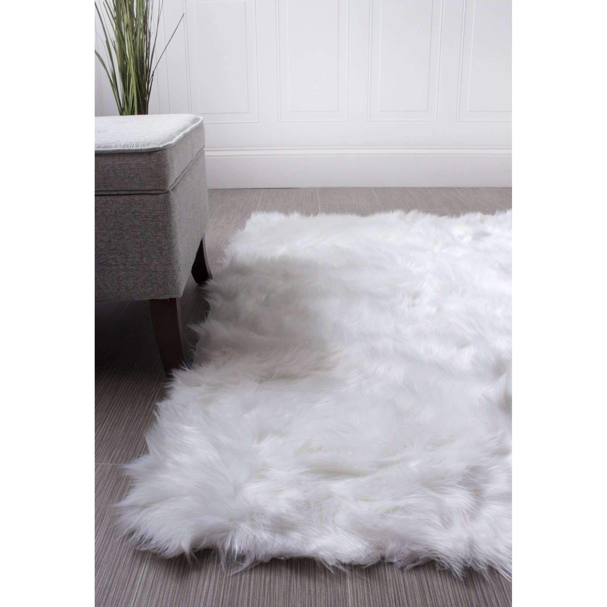 Serene Faux Soft Sheepskin Rug Ivory Childrens Room Rugs Faux Sheepskin Rug Fur Rug Bedroom
