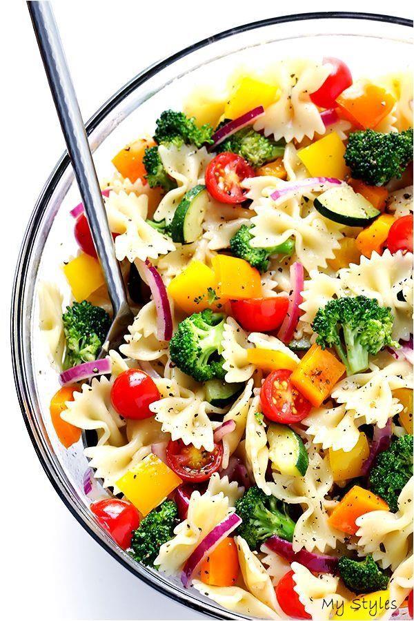 Veggie Lovers- Pasta Salad | Gimme Some Oven #garden #landscaping