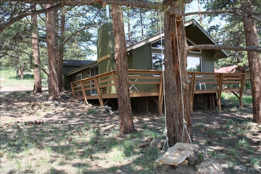 Cabin vacation rental in estes park from
