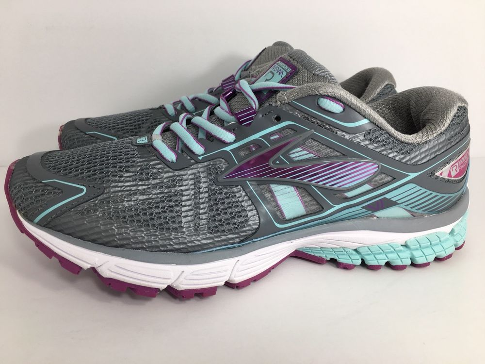 f0a0fba2ef7 Women s Brooks Ravenna 6 1201821B037 Running Shoes Gray Size 9 Medium