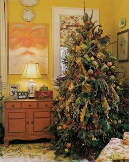 Trees Decorated With Artificial Sugared Fruit