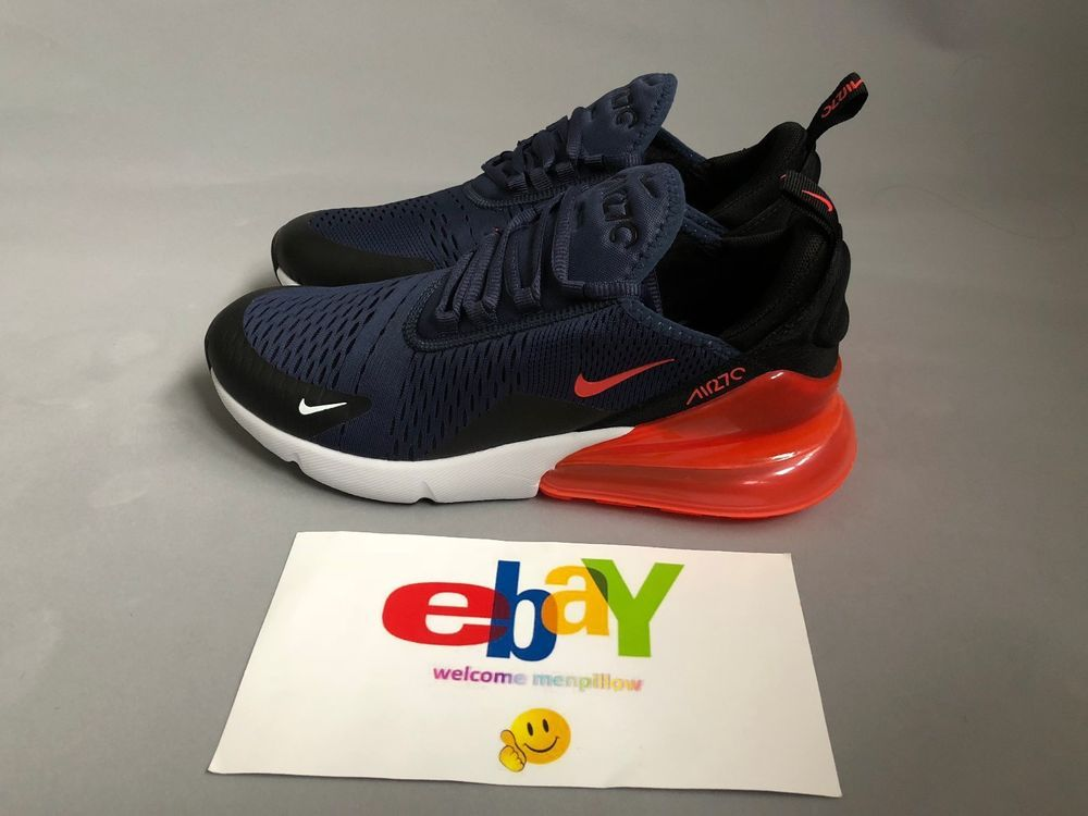 finest selection ad24d d799c Nike Air Max 270 Men AH8050-401 Racer Blue/Hyper Crimson-Black #Nike  #AthleticSneakers