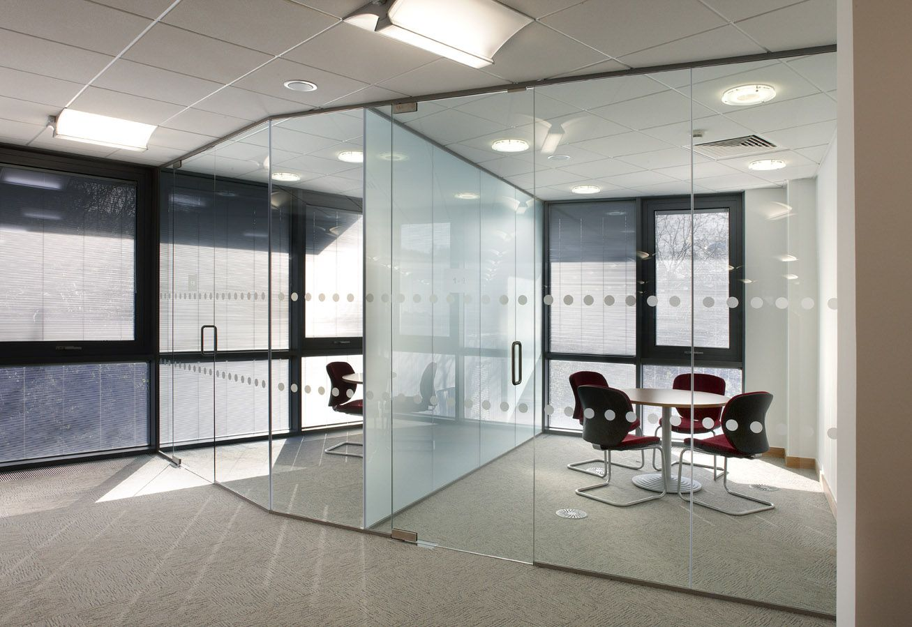 Fort lauderdale wall glass and sticker office partitions Opening glass walls