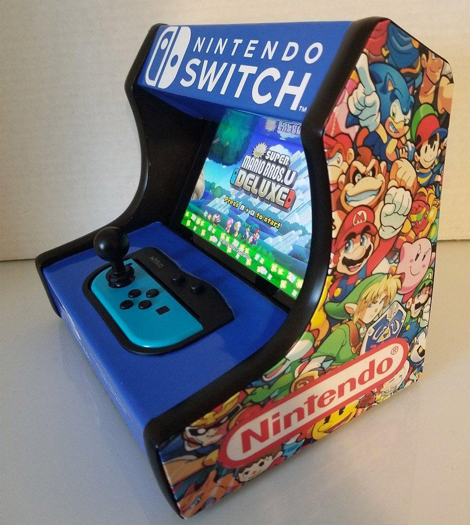 Transform Your Nintendo Switch Into a Desktop Arcade