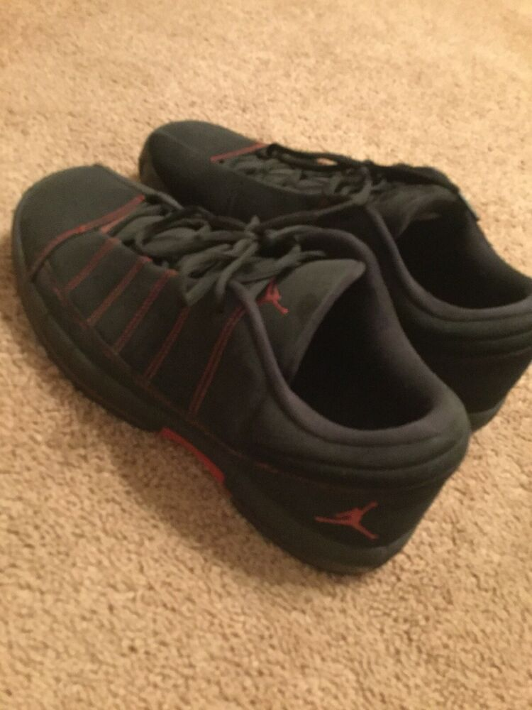 best service 30bbc 4a049 Nike Men's Jordan TE 2 Low Basketball Sneakers Suede Black ...