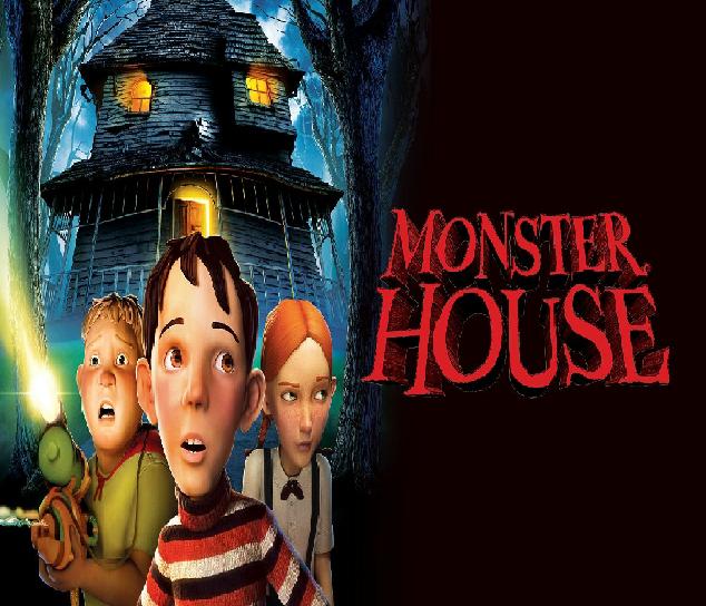 Monster House Películas De Terror Para Que Veas Con Tus Niños Peliculas De Terror Películas De Miedo Casa Monstruosa