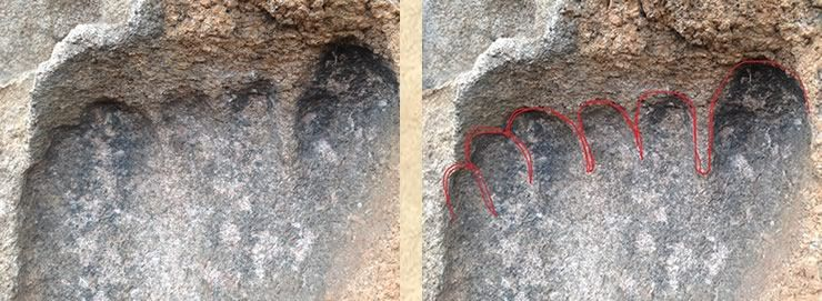 Ghost Hunting Theories: Amazing Ancient Footprints Found Around the World!...