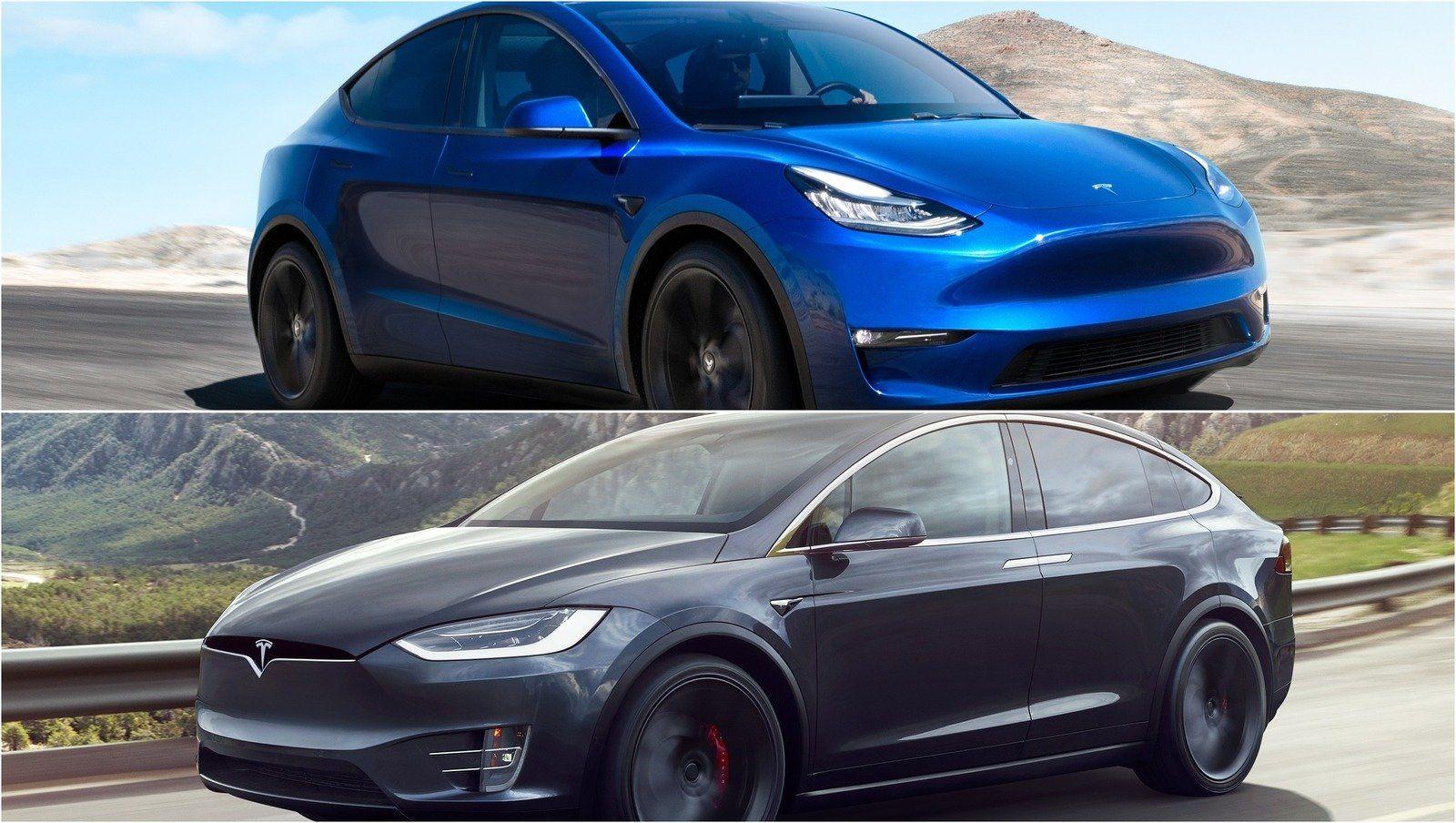 2020 Tesla Model Y Vs 2019 Tesla Model X In 2020 Tesla Model Tesla