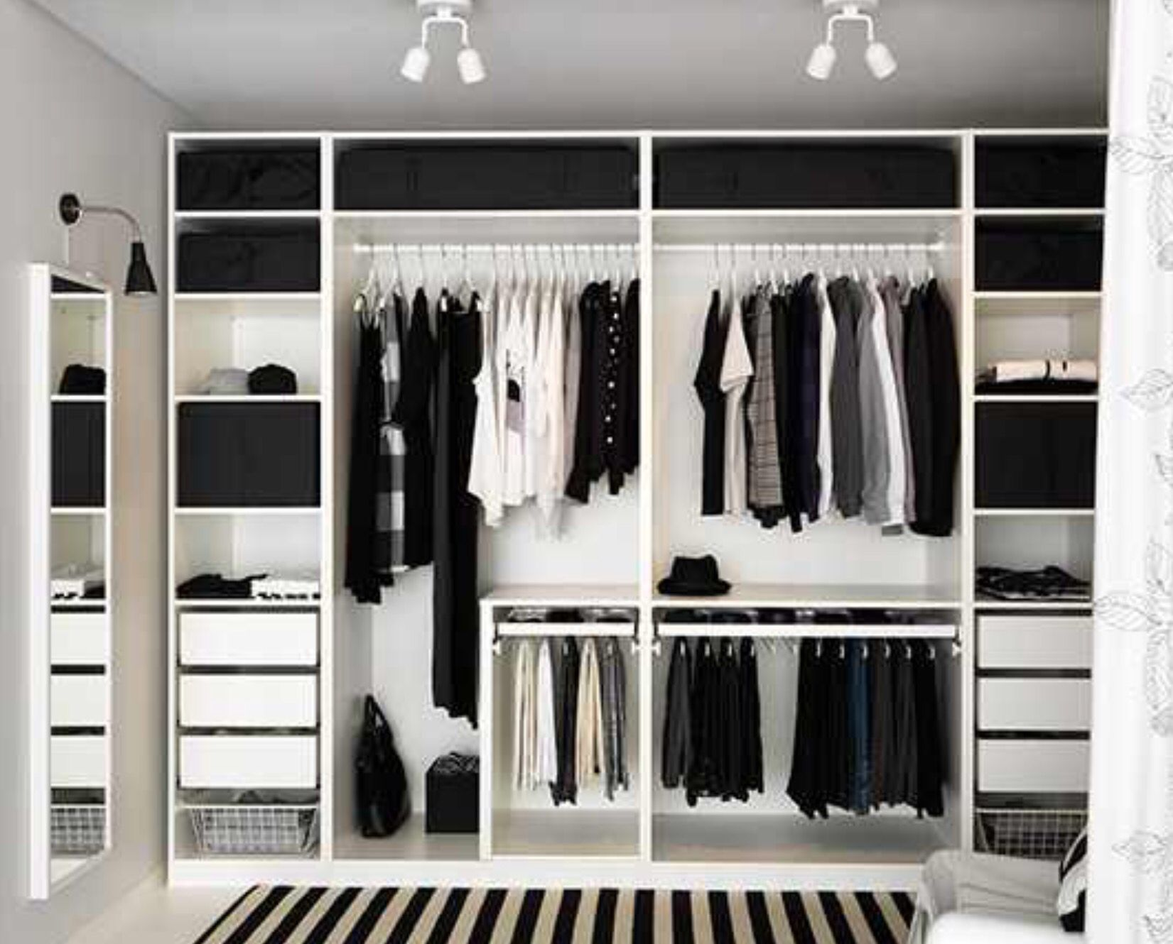 ikea pax closet pinterest chambres garde robe et deco chambre. Black Bedroom Furniture Sets. Home Design Ideas