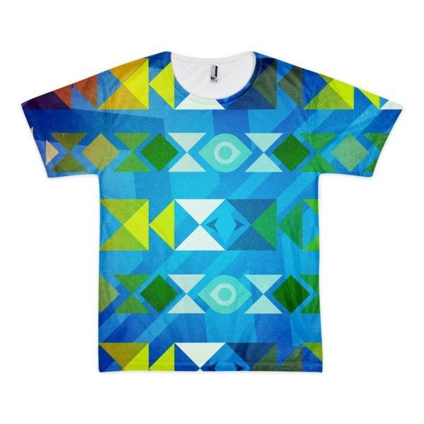 Tribal Triangles All-Over Print T-Shirt