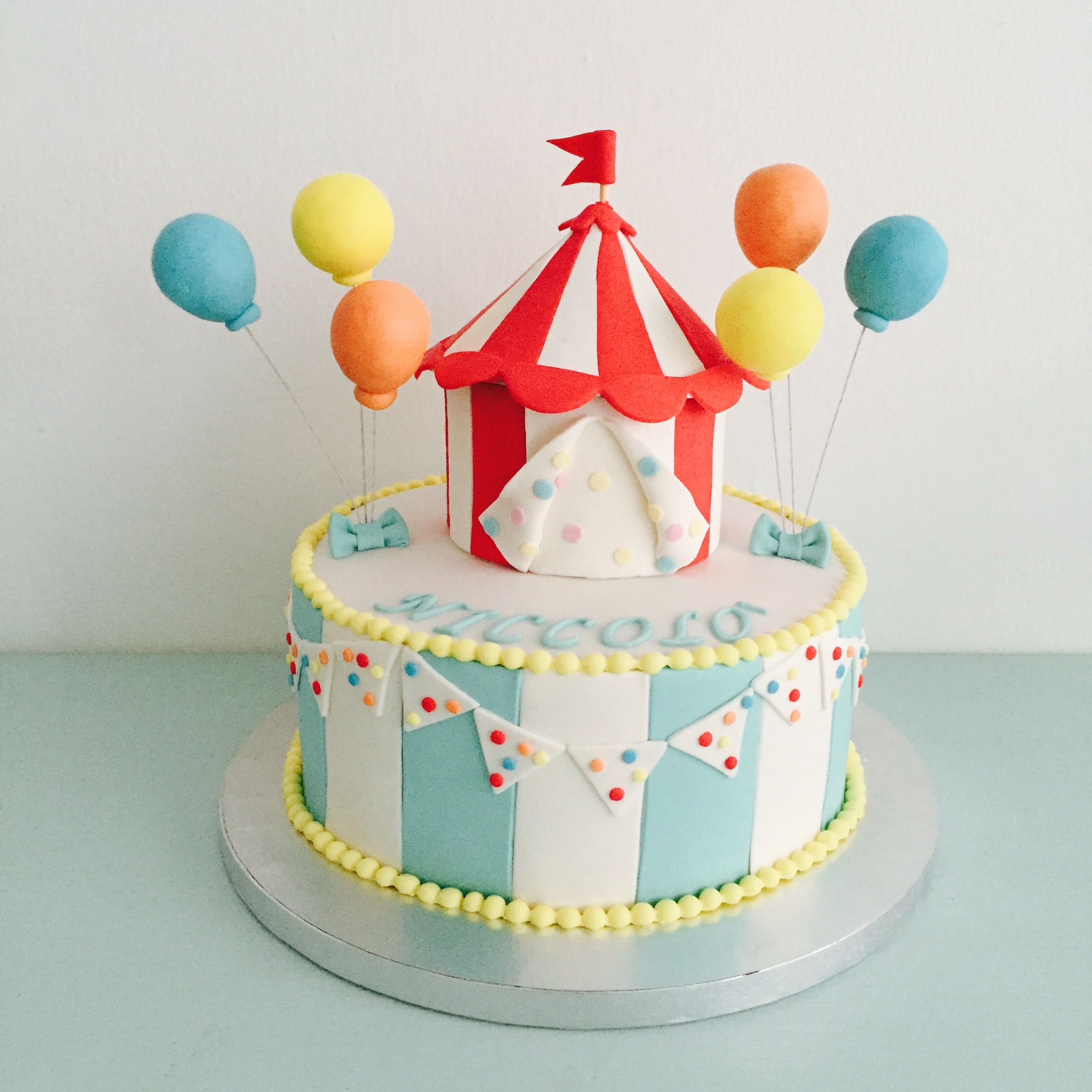 Torte Decorate Circus cakes Cake and Birthdays