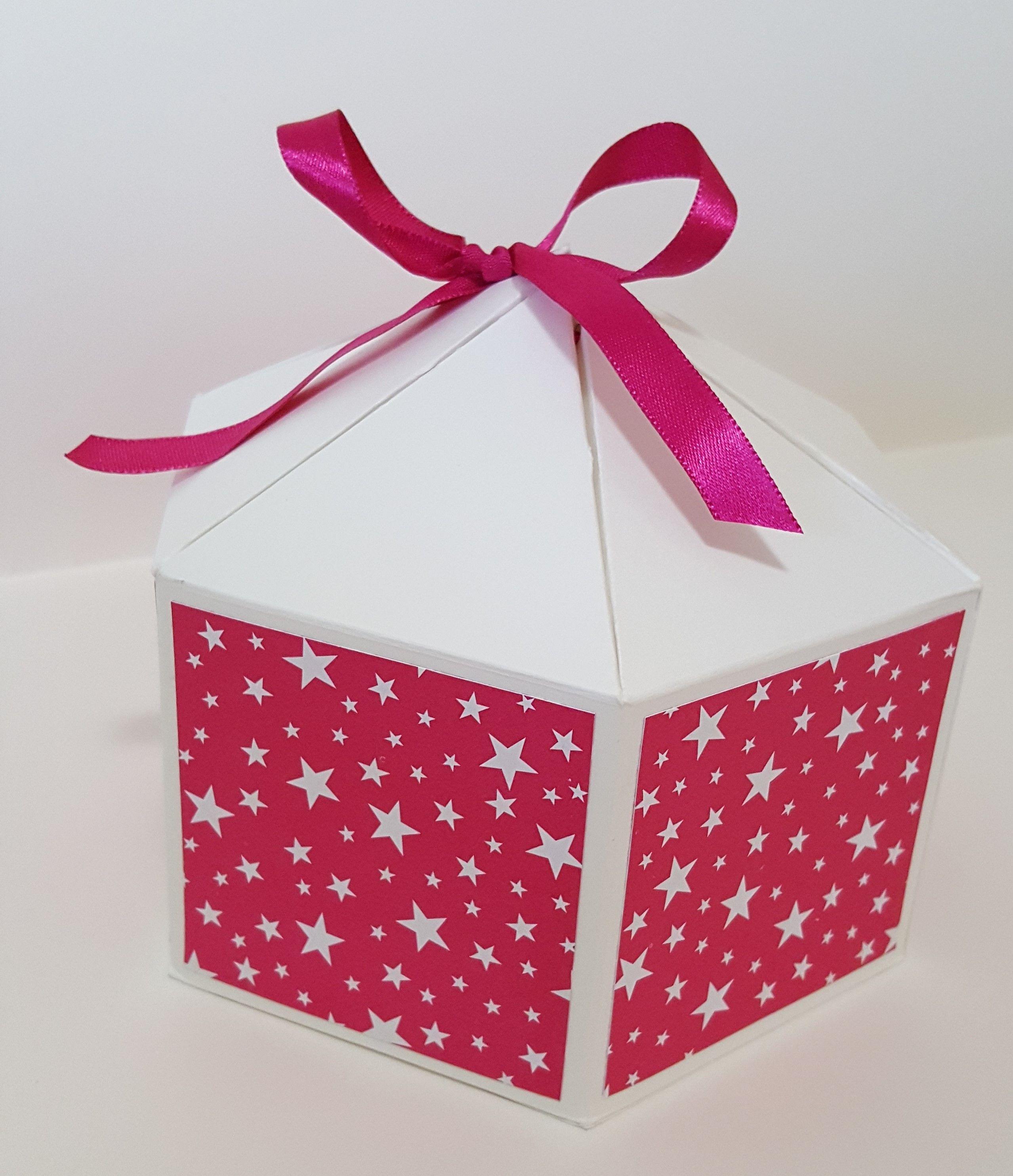 Hexagon Box (large). Blog Artandchoco