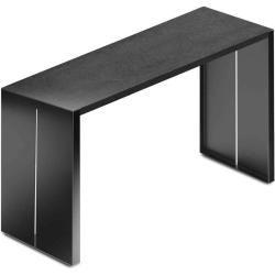 Photo of Lapalma Panco 180 bar table 180cm rectangular black lacquer …