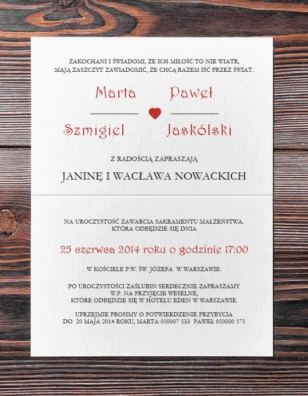 Zaproszenia Slubne Retro New 3156279639 Oficjalne Archiwum Allegro Invitations Wedding Save The Date