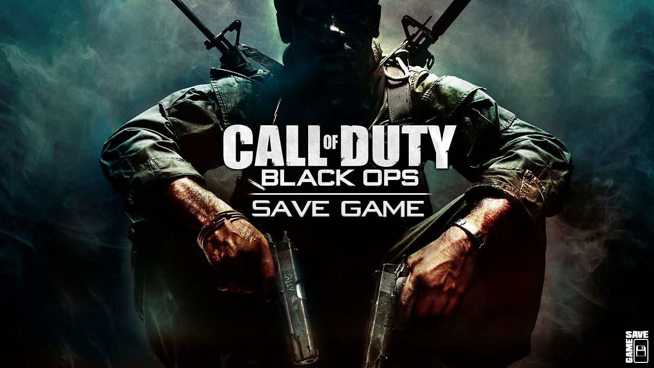 Call Of Duty Black Ops 100 Save Game Black Ops Call Of Duty Black Call Of Duty