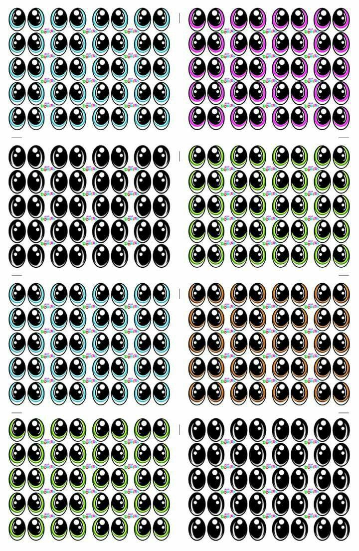 44 Melhores Imagens De Olhinhos Adesivos De Olho Olhos Para