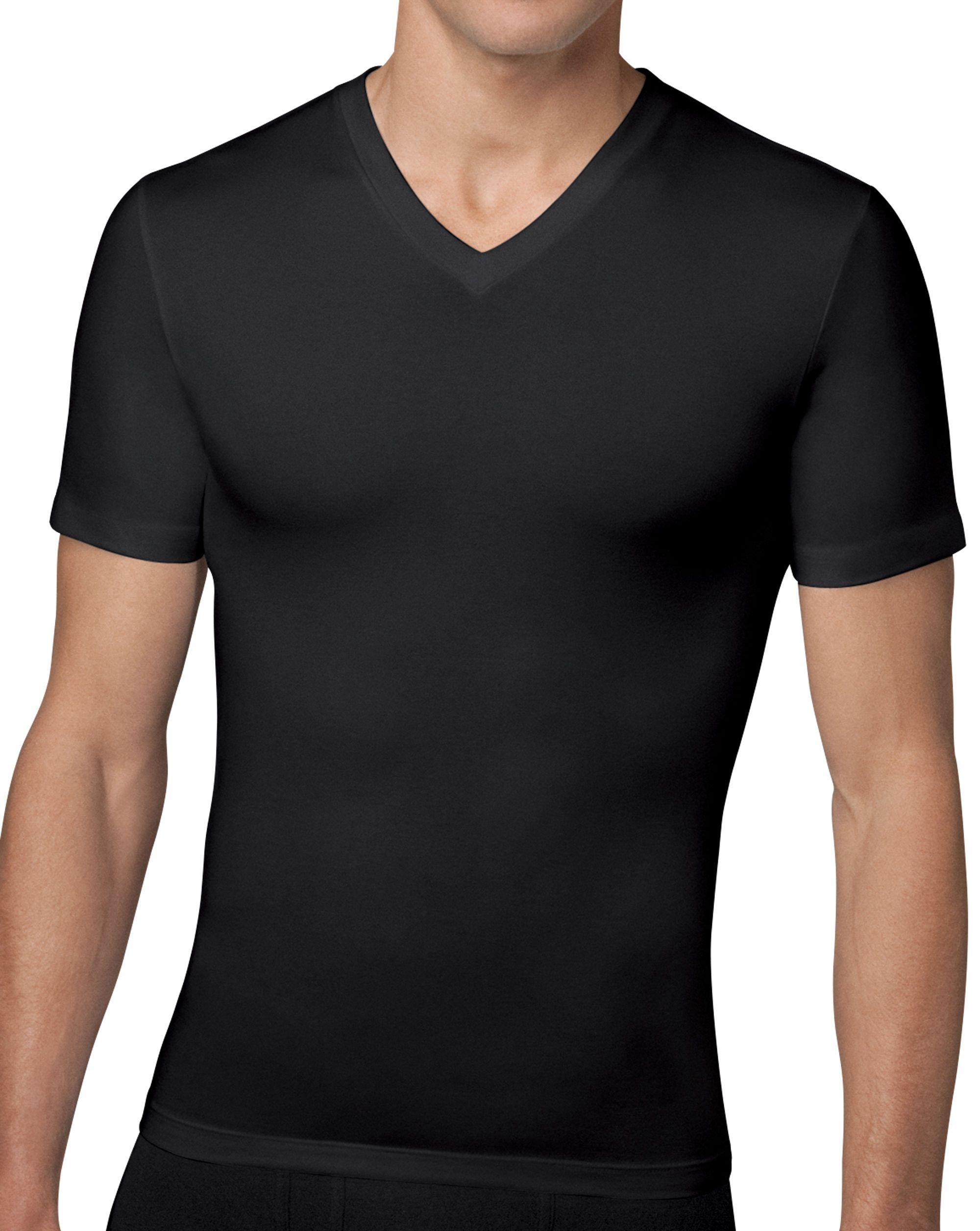 Cotton Compression V Neck Spanx V Neck Shirts