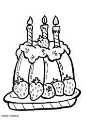 Disegni Da Colorare Torte Compleanno.Scoprite Le Nostre Torte Di Compleanno Da Stampare E Colorare