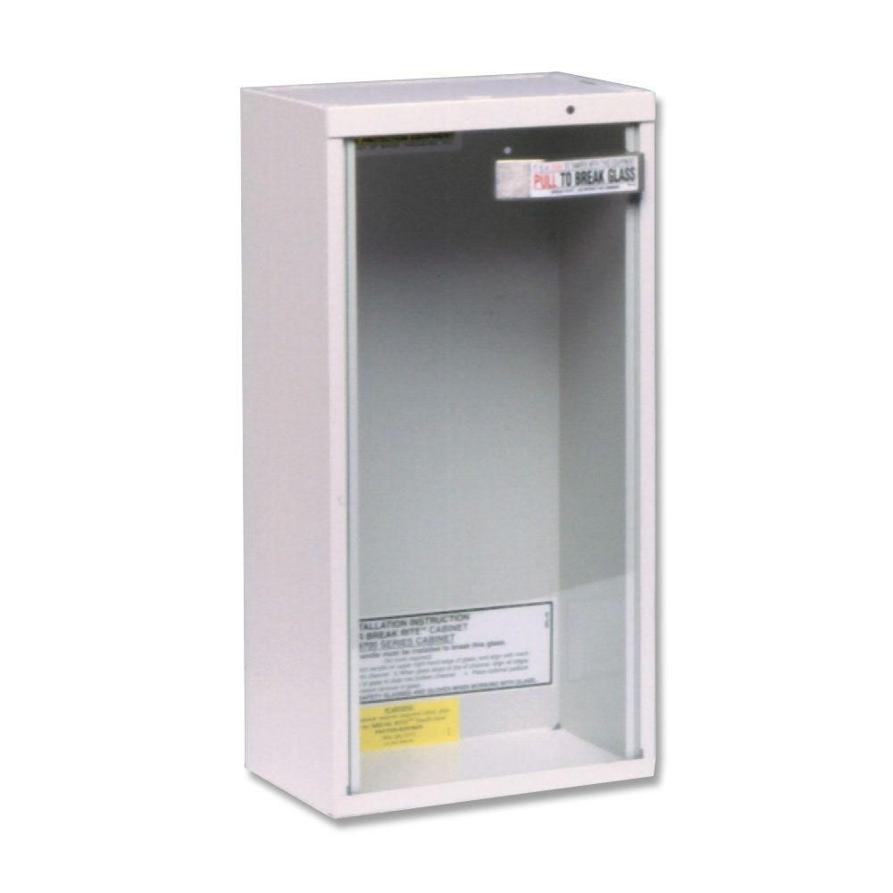 Kidde Surface Mount Fire Extinguisher Cabinet for 5 lbs