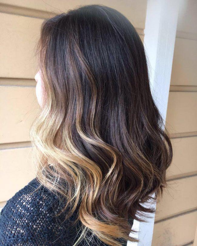 Charming Blonde Partial Highlights Hair Pinterest Partial