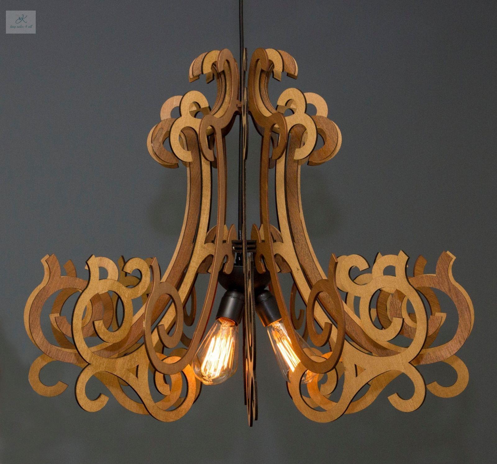 Contemporary ceiling light fixture pendant lamp modern chandelier contemporary ceiling light fixture pendant lamp modern chandelier handmade wood arubaitofo Gallery