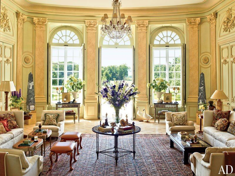 Look Inside Timothy Corrigans Palatial Estate In Frances Loire