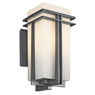 Shop kichler lighting 4920 tremillo outdoor sconce at lowes canada find our selection of outdoor wall lighting at the lowest price guaranteed with price