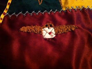 BeanTown Embroidery: Harry Potter Quilt -
