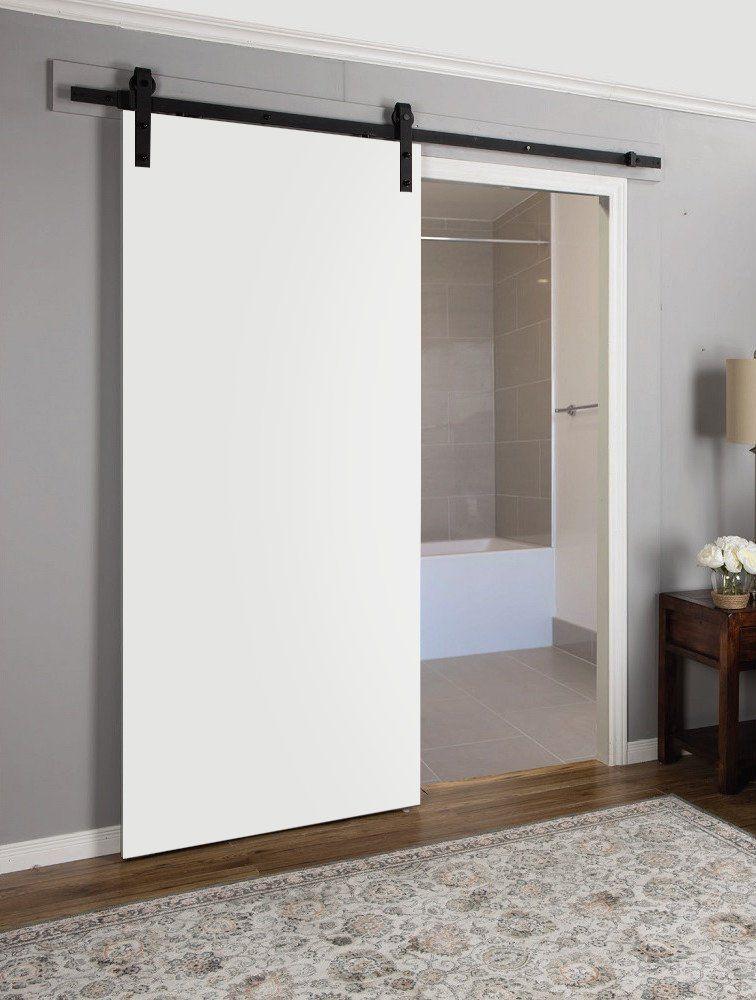 Planum 0010 Interior Sliding Closet Wood Barn Door White Silk White Barn Door Sliding Wood Doors Wood Barn Door