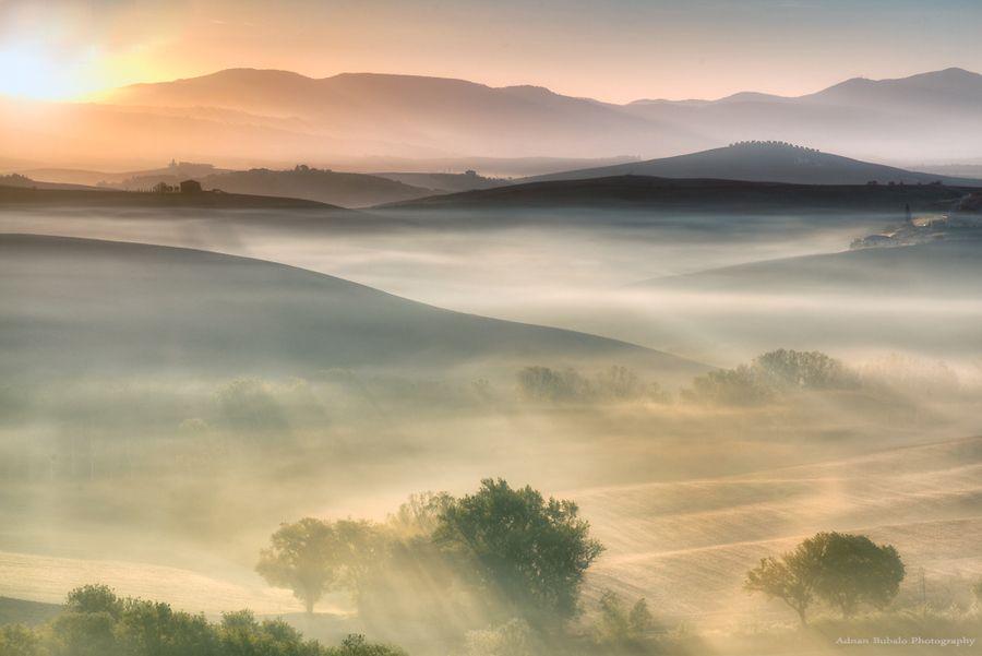 Tuscany Golden Minute by Adnan Bubalo, via 500px