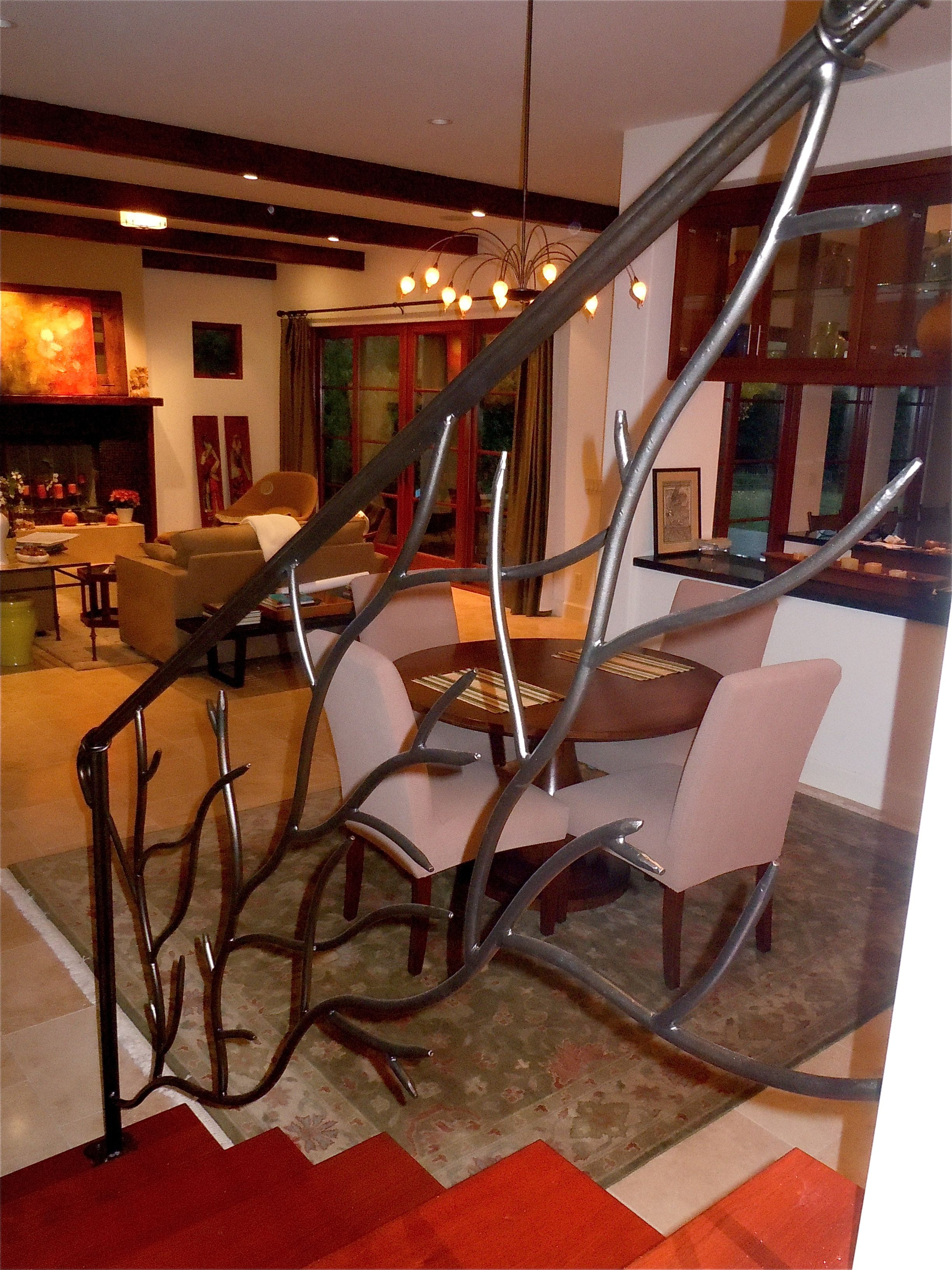 Best Organic Style Stair Rails Coral Or Tree Branches What 640 x 480