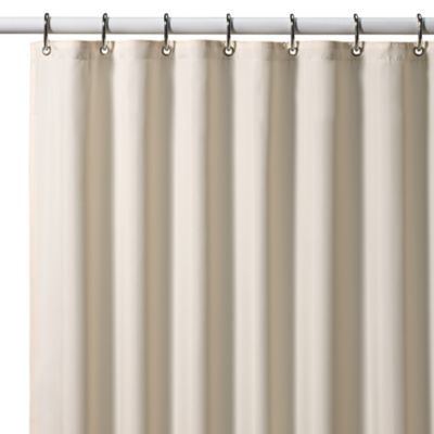 CroscillR Hotel 70 Inch X 72 Fabric Shower Curtain Liner In Ivory