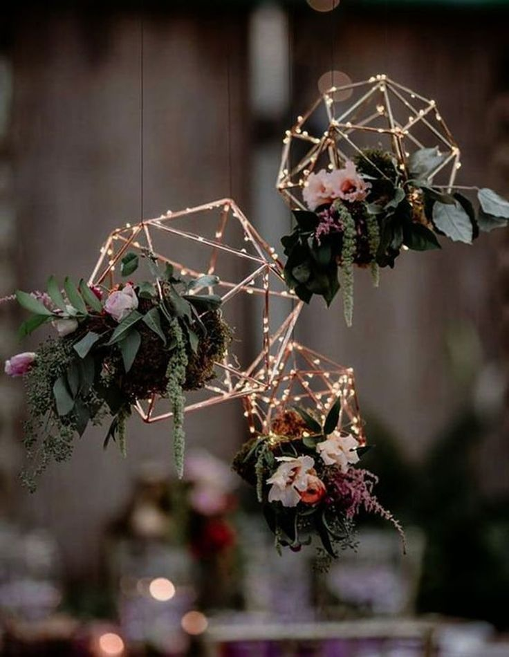 Glass Geometric Terrarium/ Wedding Table Decor/ Su