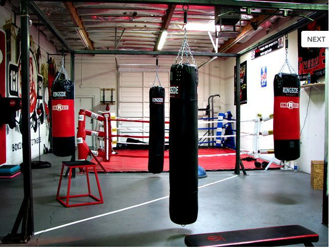 Pin By Krista Becca Ritchie On Hathaway Rose Boxing Gym Design Boxing Gym Fight Gym