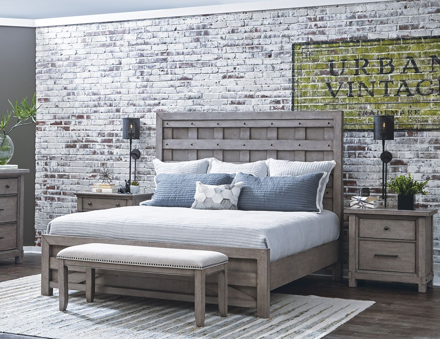 Prospect Hill Queen Panel Bed   Wooden pallet beds, Wood ...