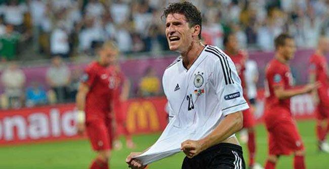Mario Gomez Le Dio El Triunfo A Alemania Sobre Portugal Mario Gomez Alemania Gol De