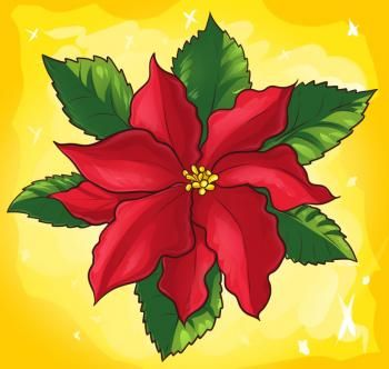 How To Draw A Poinsettia Step By Step Flowers Pop Culture Free Online Drawing Tutorial Added By Flower Drawing Flower Drawing Tutorials Christmas Drawing