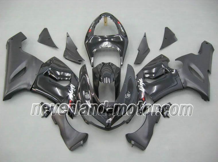 Kawasaki ninja zx6r 20052006 abs verkleidung schwarz