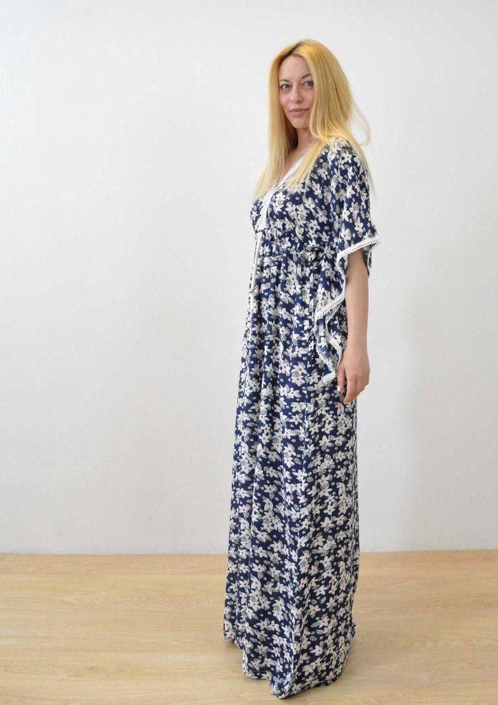 3ebef8fda7e Kimono dress - Φόρεμα κιμονό   Summer Vibes   Κιμονό, Ρούχα και Τσάντες